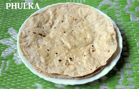 Phulka Or Soft Roti Recipe  How To Make Phulkas Or Soft