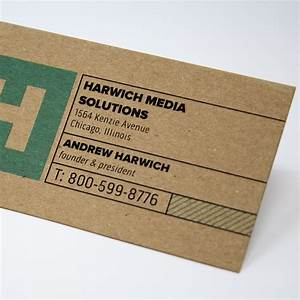 Vistaprint local business cards best business cards for Vistaprint kraft paper