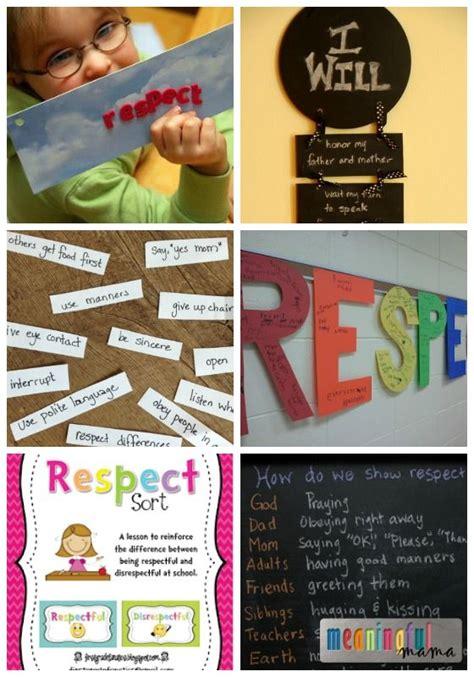 ways  teach kids  respect teaching kids