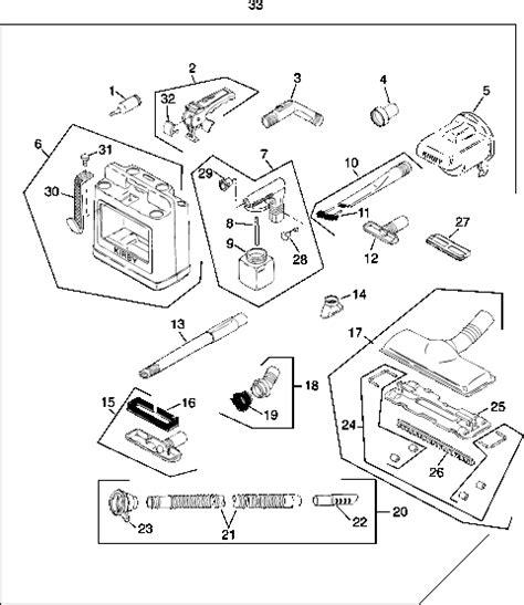 Kirby Generation V (G5)Vacuum Repair Parts & Tools