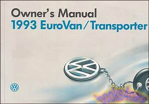 Volkswagen Eurovan Manuals At Books4cars Com