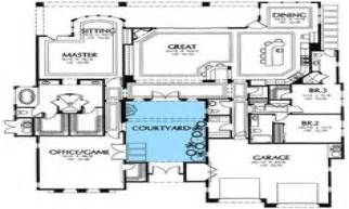southwestern house plans south west house plans with courtyard small southwestern