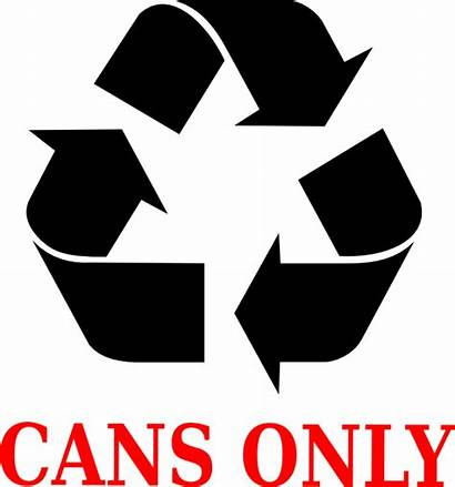 Cans Recycle Clip Clipart Recycling Aluminum Vector