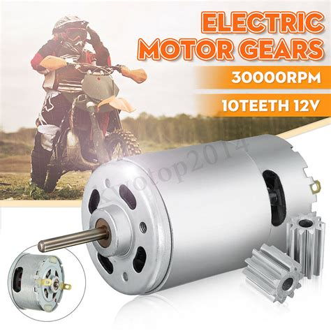 12v Electric Motor by 12v 30000 Rpm 10 Teeth Electric Motor Gear For Kid Ride On