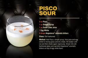 Cocktail: Pisco Sour ? Angostura