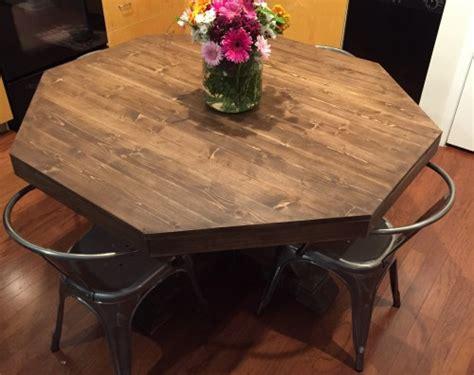 Diy Round Kitchen Table  Shanty 2 Chic