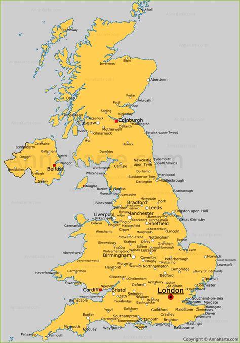 Fulham Vereinigtes Königreich by Karte Vereinigtes K 246 Nigreich Deutschland Karte