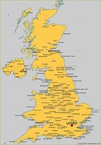 Halifax Vereinigtes Königreich : die st dte von vereinigtes k nigreich auf der karte ~ Yasmunasinghe.com Haus und Dekorationen
