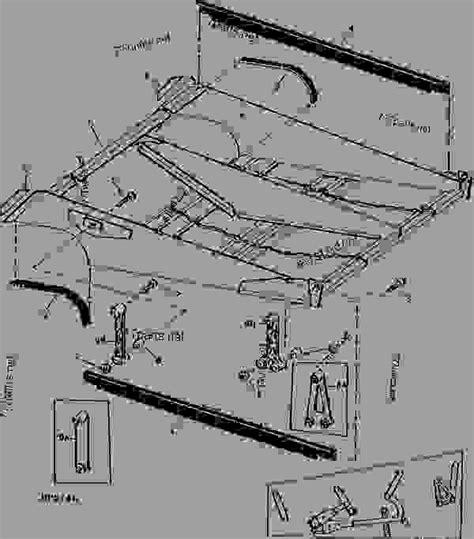 Deere Combine Part Diagram by Sieve Frame 06e23 Combine Deere 9500 Combine