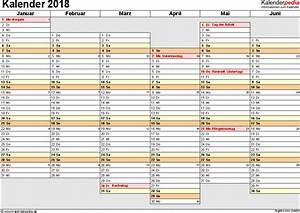 Kalender Juni 2017 Zum Ausdrucken : kalender 2018 zum ausdrucken als pdf 16 vorlagen kostenlos ~ Whattoseeinmadrid.com Haus und Dekorationen