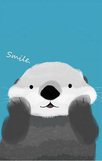 Wallpapers Otter Vibes Happy Iphone Phone Inspirational