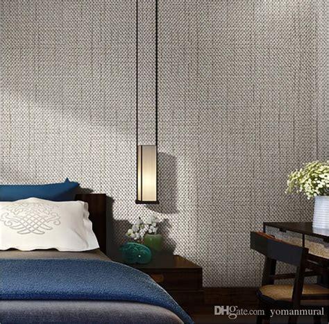 modern linen wallpapers designs beige brown  woven flax