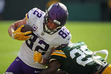 kyle rudolph pictures  images zimbio