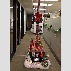 The Office Holiday Pole Decorating Contest Midcentury