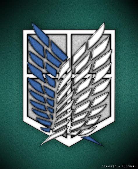 shingeki  kyojin scouting legion emblem  zibar