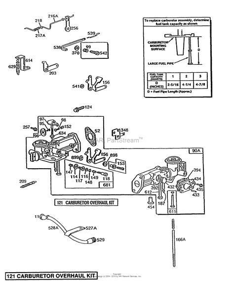 Briggs Stratton Parts Diagram For Pull