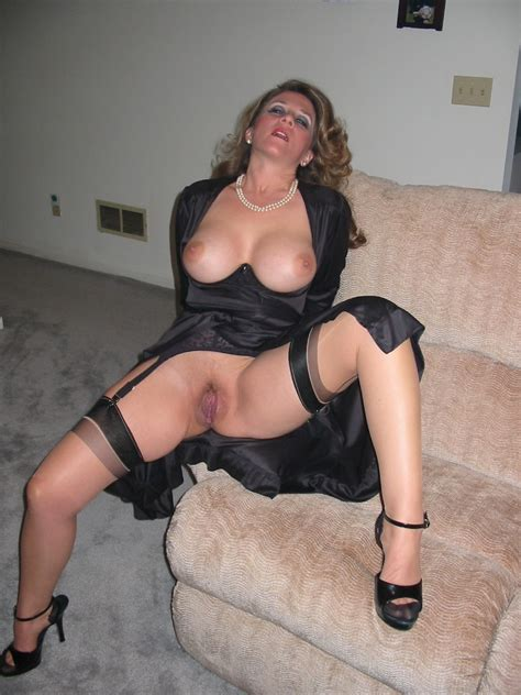 Sexy In Nylons Milf Luscious