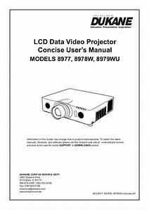 Dukane 8977  8979 8979 User Manual