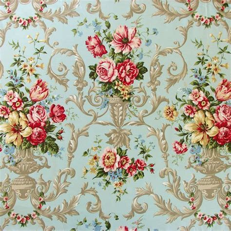 cottage style wallpaper shabby