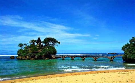 tempat wisata pantai  malang  bagus  hits