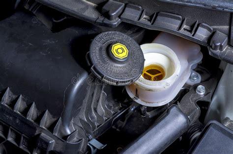 plastic cap  warning instructions brake fluid