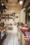 rustic farmhouse country kitchen Prepper Kitchen Ideas on Pinterest | Farmhouse Kitchens