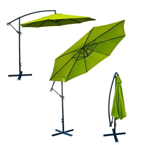 deluxe 10 offset umbrella patio set tilt crank