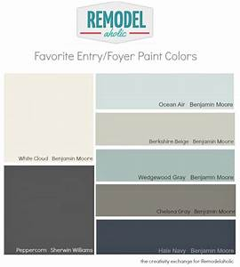 Favorite Entryway and Foyer Paint Colors Remodelaholic