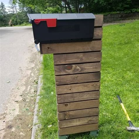 mailbox stand ryobi nation projects