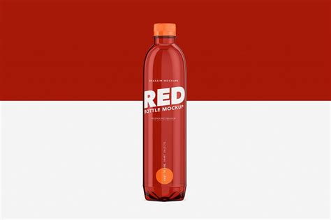 Source high quality products in hundreds of categories wholesale direct from china. Packreate » Red Bottle Pet - Mockup - 500ml