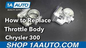 How To Replace Install Throttle Body 2006 Chrysler 300 Buy