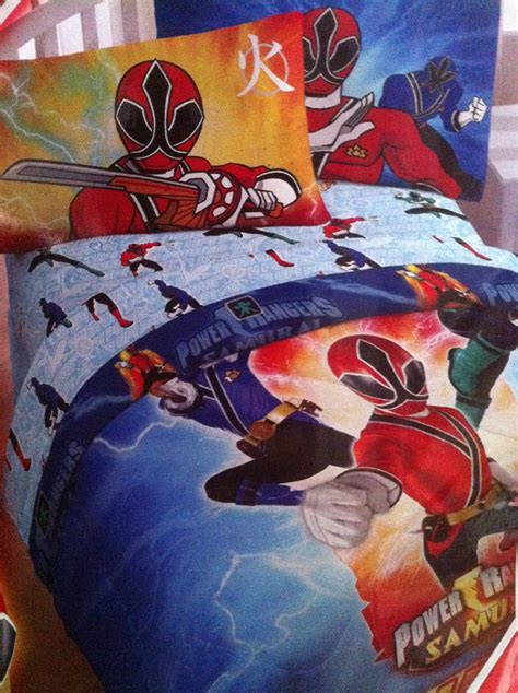 efind web power rangers bedding set