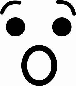 Scared Face Clip Art at Clker.com - vector clip art online ...