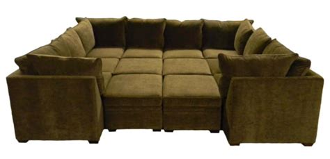 sectional with large ottoman furniture faux leather and microfiber small sectional