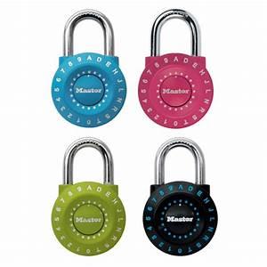 Comment Fermer Un Cadenas A Code 3 Chiffres : cadenas master lock 1590eurdcol en zinc ~ Dailycaller-alerts.com Idées de Décoration