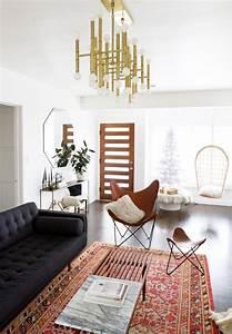 le tapis de salon dans quelques mots et beaucoup de photos With tapis kilim avec canapé cuir craquelé