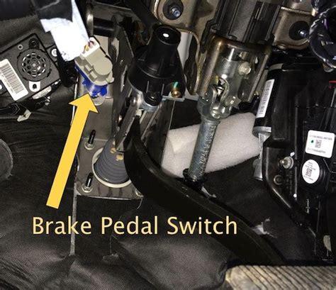 p cruise controlbrake switch  circuit