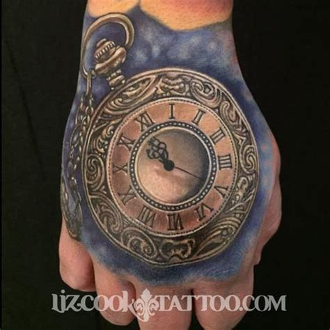 Liz Cook Tattoo  Tattoos  Custom  Time Piece On The Hand