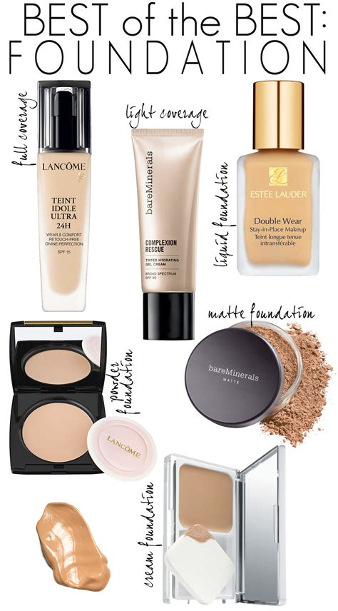 Best Of The Best Department Store Foundations
