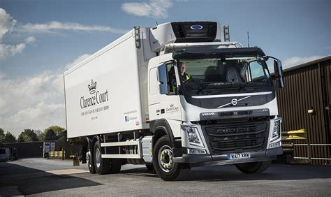 volvo bus and truck first volvo trucks for more than ten years join clarence