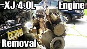 89 Cherokee 4 0l I6 Engine Removal