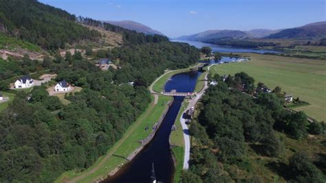 Loch Ness Canal Boat Hire by The Caledonian Canal Caley Cruisers