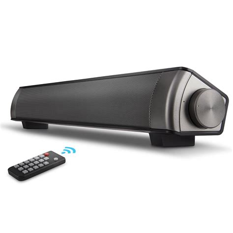 Bar Speakers by Soundbar Surround Sound Bar Home Theater System With Wired