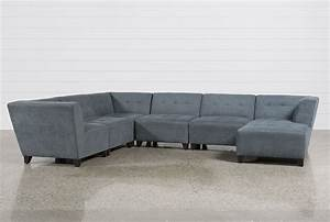 6 piece modular sectional sofa fabric roxanne 6 piece With canby 6 piece sectional sofa set