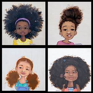 adorable, african american, art, beautiful - image #610867 ...