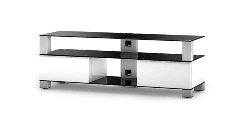 meuble tv sonorous sonorous md9140 blanc et noir meubles tv sonorous sur