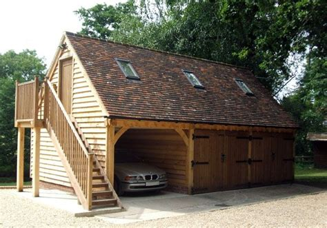 Best 20+ Timber Frame Garage Ideas On Pinterest Outdoor