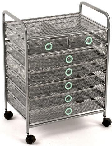 Storage Cart With Drawers And Wheels wired 7 drawer cart rolling storage cart with drawers