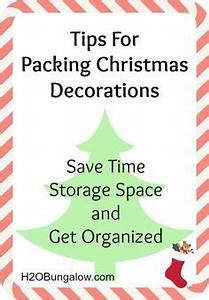 Christmas Storage on Pinterest