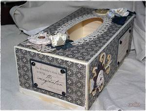 Boite Mouchoir Deco : boite mouchoirs scrapp e carolice ~ Melissatoandfro.com Idées de Décoration